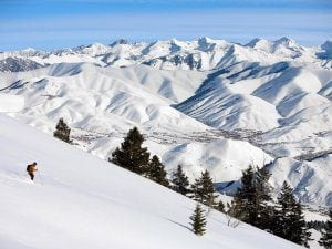 Nothing like this resort for ski fans