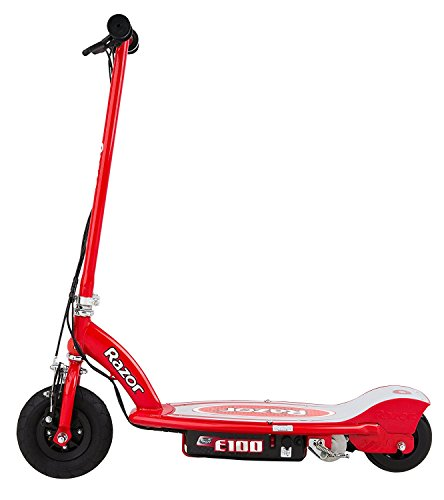Red E100 scooter