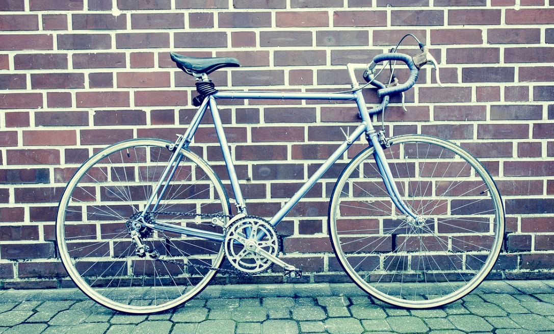 Fixie Bike on the wall