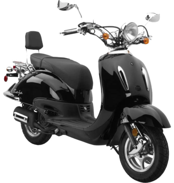 Baja Scooter black